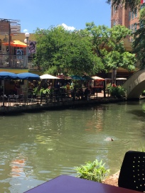 Restaurants on the riverwalk